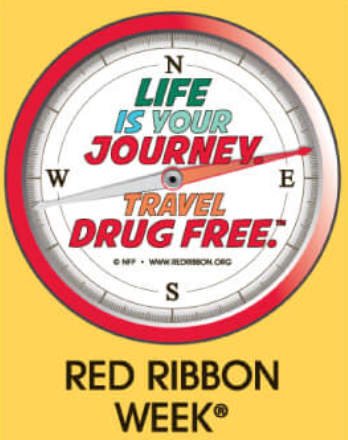 Red Ribbon Week is Almost Here!